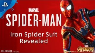 Marvel's Spider-Man - Iron Spider Suit Revealed | PS4