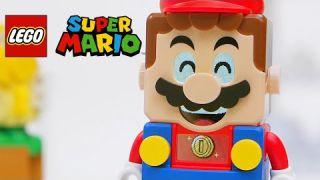 Super Mario Lego - It's Lego Mario Time Trailer