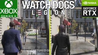 Watch Dogs Legion Xbox Series X vs RTX 3080 Ray Tracing 4K Early Graphics Comparison