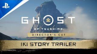 Ghost of Tsushima Director's Cut - Iki Island Trailer | PS5, PS4