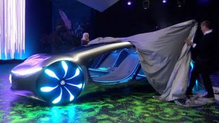 This Mercedes can drive sideways | AVTR